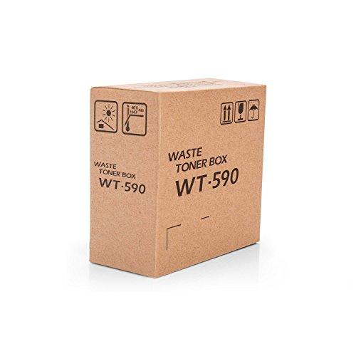 Kyocera WT-590 - Ersatzteile Druck der Ausrüstung (Kyocera, Multifunktional, Kyocera ECOSYS P6021cdn Kyocera ECOSYS P6026cdn Kyocera fsc2026mfp Kyocera FSC2126MFP, Resttonerbehälter, weiß)