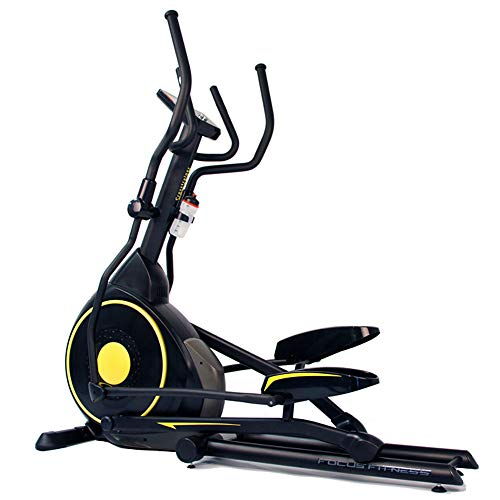 Focus Fitness Elliptische Trainer Senator - Natürliche Laufbewegung - 32 Widerstandsniveaus mit 12 Trainingsprogrammen - Professionell Crosstrainer mit Frontantrieb
