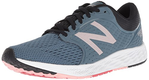 New Balance Damen Fresh Foam Zante v4 Neutral Laufschuhe, Blau Light Petrol Black Champagne Metallic Lp4, 36 EU