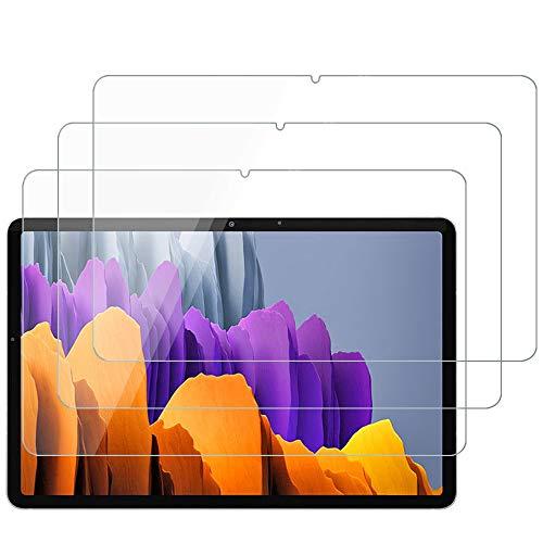 ANEWSIR 3 Stuck Panzerglas Schutzfolie fur Samsung Galaxy Tab S7 Samsung Galaxy Tab S7 Schutzfolie Glas Display ohne Luftblasen Anti Kratzer Schutzfolie Displayschutzfolie Folie
