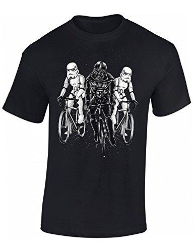 T-Shirt de vélo: Star Bike - Cadeau pour Cyclistes - BMX - vélo - VTT - Bicyclette - e-Bike - Fixie - Urban - Urbaine - Cadeau pour Les Fans de vélo - T-Shirt Humour - T-Shirt drôle (M)