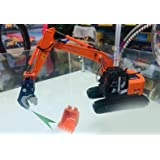 HITACHI 1/50 完成品 ZAXIS 225USRK Excavator(Equipped with bucket +shear) ダイキャスト 掘削機