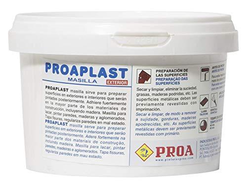 PROAPLAST EMPLASTE PARA PAREDES EN MASILLA EXTERIOR. 5 Kgs.