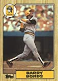 1987 Topps Baseball #320 Barry Bonds Rookie Card. rookie card picture