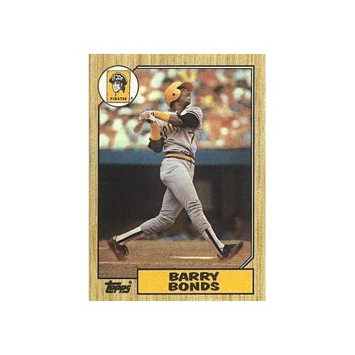d5917b4214c Amazon.com  1987 Topps Baseball  320 Barry Bonds Rookie Card  Collectibles    Fine Art