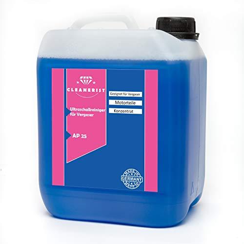 Die Seifenblase 5 Liter Ultraschallreiniger AP25 für Vergaser Konzentrat für alle Mikuni-, Keihin-, Hitachi- und Teikei-Vergaser HD-Gerät