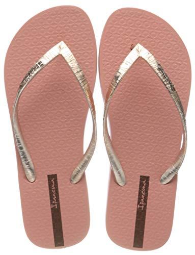 Ipanema Damen Glam II FEM Zehentrenner, Mehrfarbig (Pink/Metallic Gold 9262.0), 39 EU