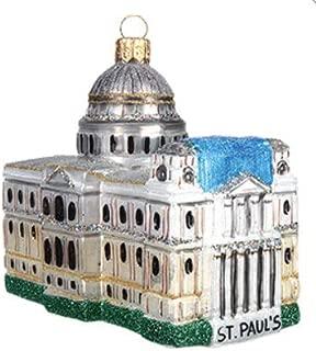 England London St Paul Anglican Cathedral London England United Kingdom Princess Diana's Wedding Polish Glass Christmas Ornament Souvenir