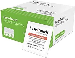 EasyTouch Alcohol Prep Pads 2 boxes – Gamma-Sterilized - (100 per Box)