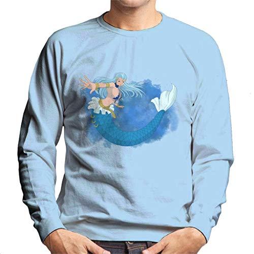 Cloud City 7 Fairy Tail Aquarius Men's Sweatshirt