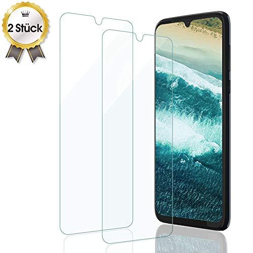 UNIY Panzerglas für Motorola G8 Plus, Tempered Glas 9H Schutzfolie 2.5D, Anti-Kratzen, Blasenfrei Panzerglasfolie Folie für Moto G8 Plus [2 Stück]
