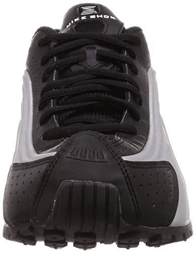 Nike Shox R4 - Zapatillas de Deporte (Talla 8), Color Negro y Plateado