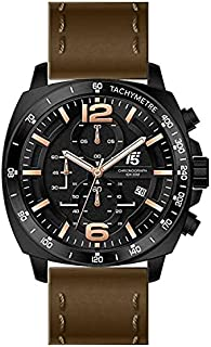 H3492G-D T5 WATCH FOR MEN -LEATHER