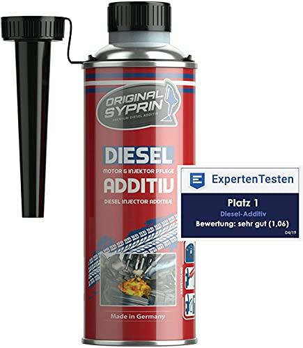 SYPRIN Diesel additivo adittivi - trattamento e protezione per motori sistemi iniettori diesel I miglior additivo multifunzionale diesel carburante 250ml