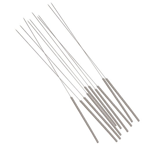Product Image 7: 3D Printer Nozzle Cleaning Kit – 0.4mm Needles and Tweezers Toolkit – Stainless Steel Nozzle Cleaning Tool Kit – Alternative for 0.4mm Drill Bits for 3D Printer – Set of 11