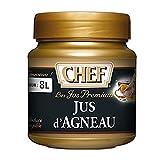 CHEF Jus d'Agneau Premium en pâte Jus - Aides Culinaires, sauce - Pot de 640g
