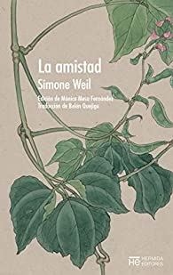 La amistad par Simone Weil