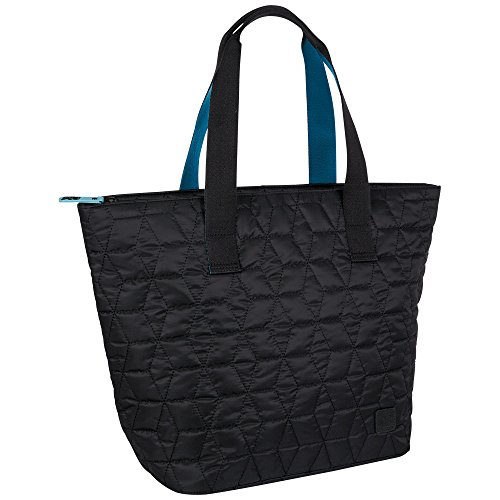 Chiemsee Damen Handtasche Quilted Shopper, Black, 34 x 20 x 36 cm, 24 Liter