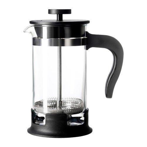 IKEA UPPHETTA Kaffee-/Teezubereiter aus Glas; (0,4l)