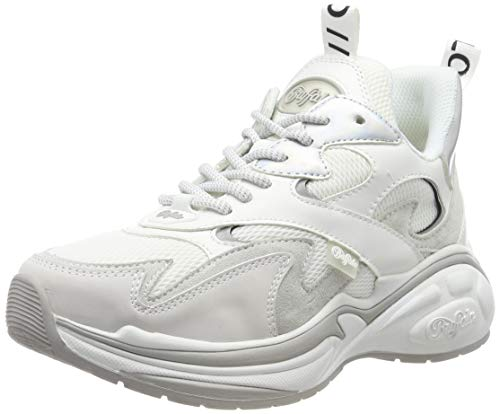 Buffalo Damen CAI Sneaker, Weiß (White 001), 40 EU