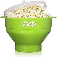 Proper Popper Microwave Silicone Bowl Popcorn Maker