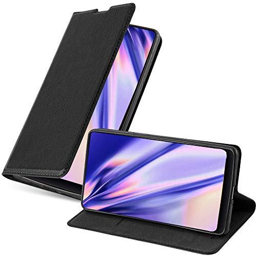 Cadorabo Funda Libro para Xiaomi Mi Mix 2 en Negro Antracita – Cubierta Proteccíon con Cierre Magnético, Tarjetero y Función de Suporte – Etui Case Cover Carcasa