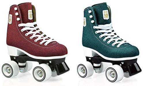 RAVEN Rollschuhe Roller Skates Azure (Green, 38(24,5cm))