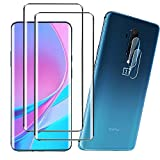 (2+2 Pack) YRMJK for Oneplus 7T Pro Screen Protector+Camera Lens...