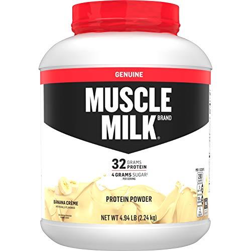 Muscle Milk Genuine Protein Powder, Banana...