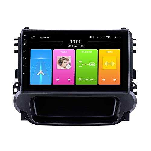 Radio de coche, Sistema de navegación GPS con radio Android 10 de 9 pulgadas para Chevrolet Malibu 2012-2015, con cámara de marcha atrás, manos libres Bluetooth,Wifi 2g+32g