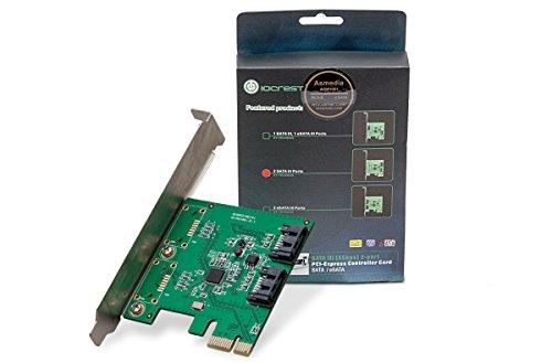 I/O CREST 2 Port SATA III PCI-e ...