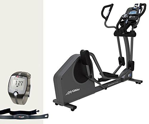 Life Fitness E3 Track Crosstrainer, model 2017, inclusief Gratis FT1 Polar polshorloge, borstband en vloermat