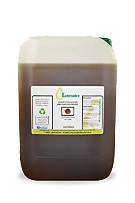 Lubrisolve Online Linseed Oil - 100% pure, cold pressed Linseed Oil - 10 litres