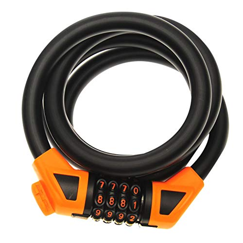 Muddyfox Unisex Combi Lock 200 Cycle Sport Black One Size