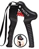 GD GRIP Pro-70 Hand Grip Strengthener (Adjustable Resistance: 55~154 lbs) Hand Strength Trainer Wrist and Forearm Exerciser Home Gym Fitness Equipment for Hand Strength