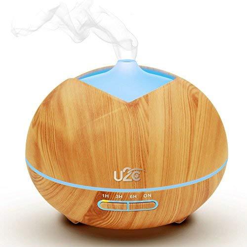 Buy Cheap U2C Essential Oil Diffuser, 【450ml Aroma Diffuser Wood Grain】 Ultrasonic Aroma Diffuse...