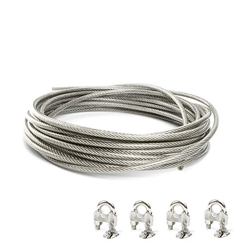 43-Pound Softstrand Vinyl Coated Stainless Steel Picture Wrapping Wire