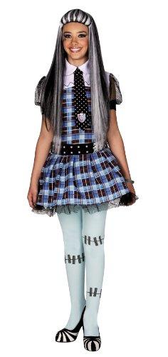 Monster High E325-001 - Disfraz de Frankie Stein (8/10 años)