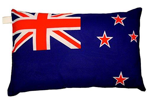 Unbekannt Neuseeland Kissen Fahnen Deko Autokissen Neuseeland Fan beide, ca. 28 x 40 cm