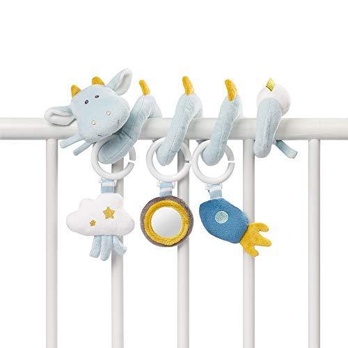 Fehn, spirale per attività/Spirale di tessuto per la presa e per il tatto, da applicare sul letto, passeggino, Box/per neonati e bambini a partire da 0mesi