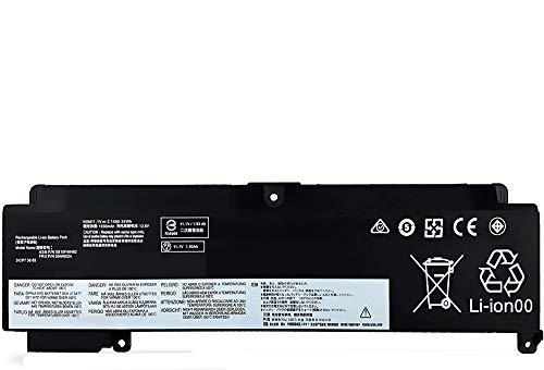 Uniamy 00HW024 00HW025 Replacement Battery Compatible with Lenovo Thinkpad T460S T470S 01AV405 01AV406 SB10J79004 SB10F46463 11.1V 24Wh