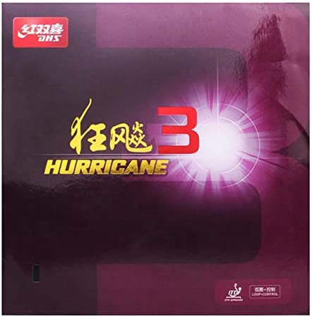 DHS Hurricane 3 Table Tennis Rubber Sheet Ping Pong Rubber