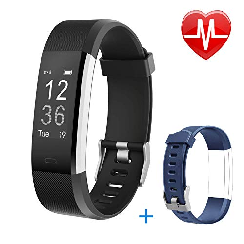 Letsfit Fitness Tracker HR, Activity Fitness...