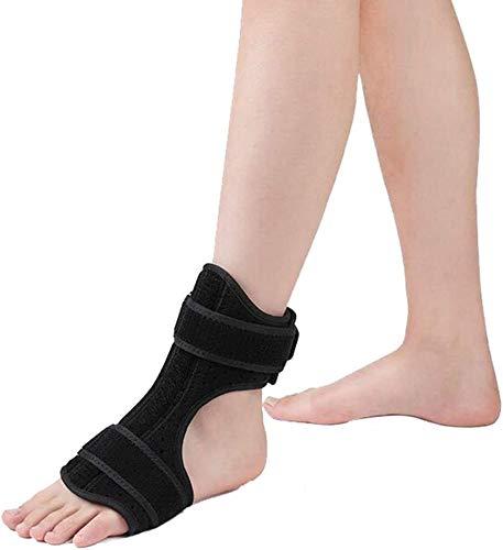 NQCT Komprimierte Fersensporn Fußschiene, AFO Wiederverwendbare Fuß Sprunggelenk-Orthese for Fallfuß Knöchel Korrektur kann auf der rechten Seite oder linken Fuß getragen Werden 10.1