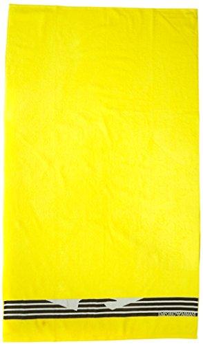 Emporio Armani Underwear 1108007P591 - Asciugamano, Giallo (LIMONE), Taglia unica