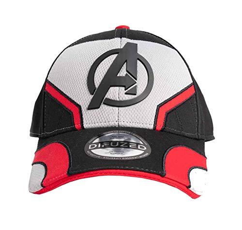 Marvel Avengers Endgame Baseball Cap Quantum Logo Nue offiziell Snapback