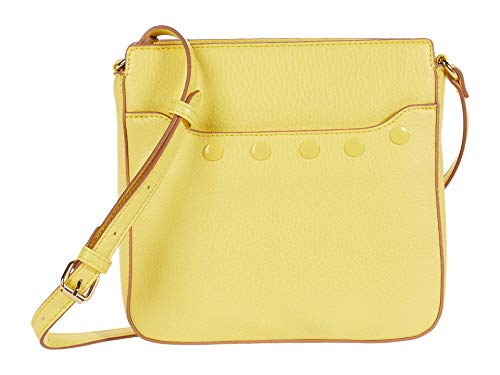 Anne Klein North/South Crossbody con bolsa, Amarillo ((Limone)), Talla única