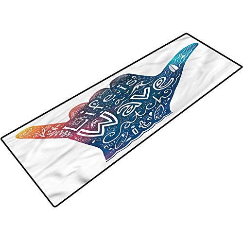 Wave Outdoor Door Carpet Inspirational Quote Shaka Bathroom mats Bath Rugs Doormats Carpet 20x32 Inch