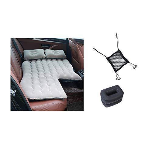 Greatangle-UK Cama de Viaje para automóvil, multifunción, niños Adultos reclinables, Cama de Aire, Cama de Aire para automóvil, cómodo colchón de Aire para automóvil + Bolsa de Almacenamiento