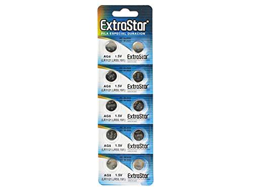 10Batterien Knopfzellen Batterien AG81,5V LR1120SR55391A LR55SG8SR1120